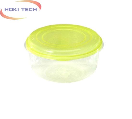 Hộp nhựa tròn size trung
