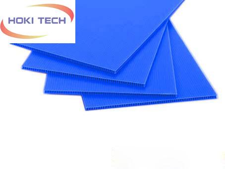 Tấm nhựa PP Danpla màu xanh tím
