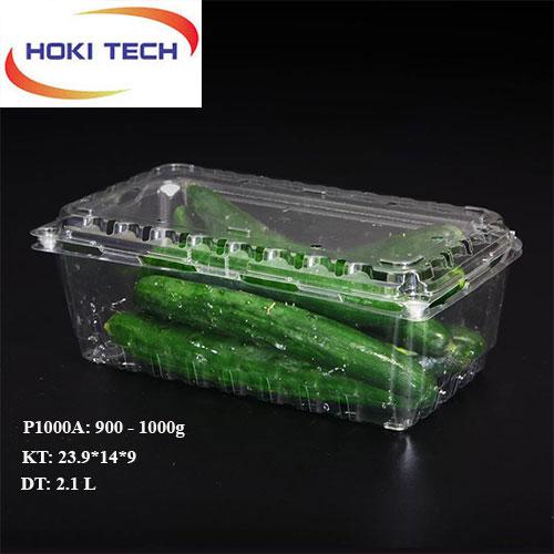 Hộp nhựa P1000A đựng trái cây