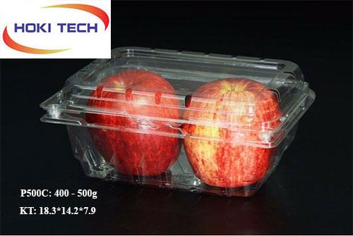 Hộp nhựa P500C đựng trái cây